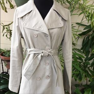 Papaya Trench Coat